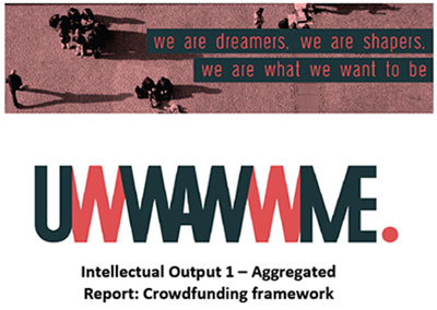 Intellectual Output 1 – Aggregated  Report: Crowdfunding framework