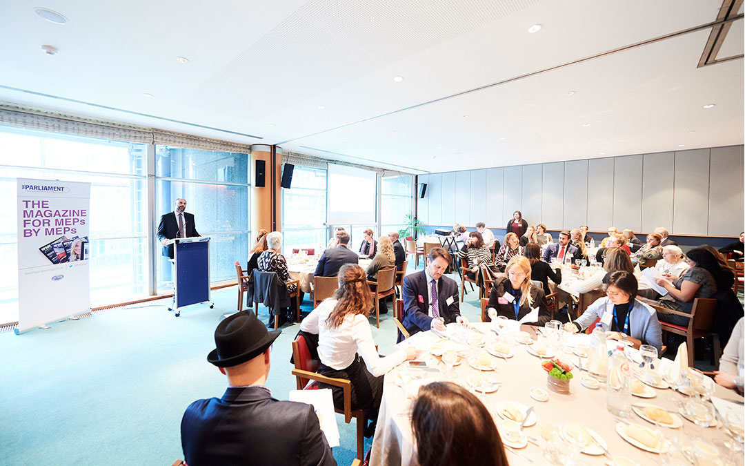 ECWT & the Parliament Magazine hosting Lunchmeeting for MEPs